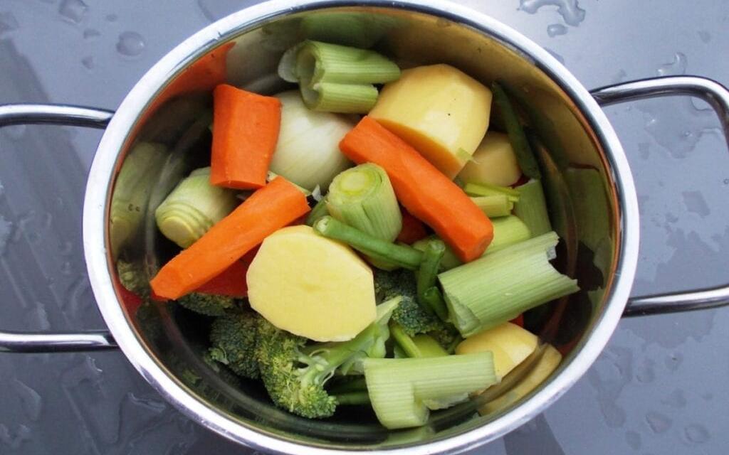 Ryk madlavningen udendørs